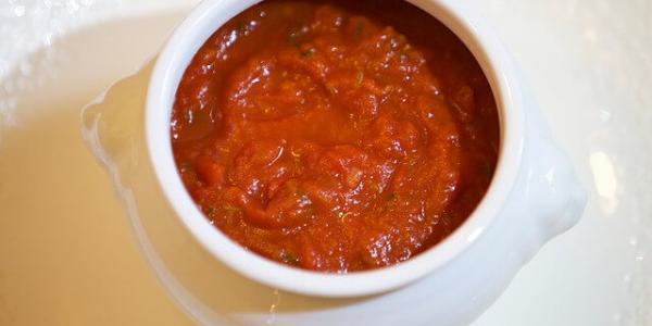 Béchamel à la tomate sans lactose