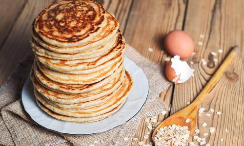 Pancake au son d'avoine